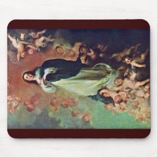 The Immaculate Conception Of The Venerable Ones Mouse Pad