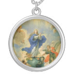 The Immaculate Conception Personalized Necklace