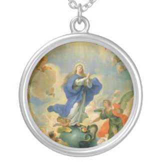 The Immaculate Conception Round Pendant Necklace