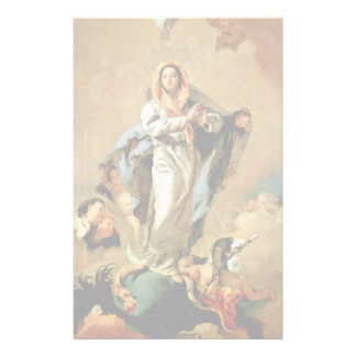 The Immaculate Conception Stationery Design