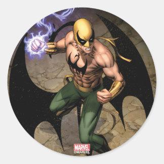 The Immortal Iron Fist Classic Round Sticker