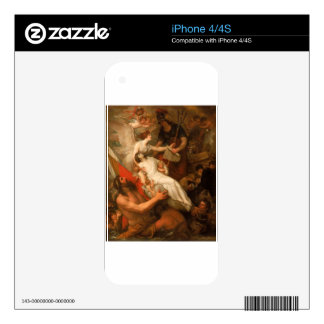 The Immortality of Nelson by Benjamin West iPhone 4 Skin