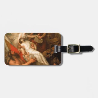 The Immortality of Nelson by Benjamin West Luggage Tag