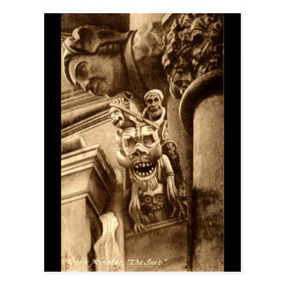 The Imp Gothic Cathedral 1912 Vintage Postcard