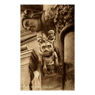 The Imp Gothic Cathedral 1912 Vintage Poster