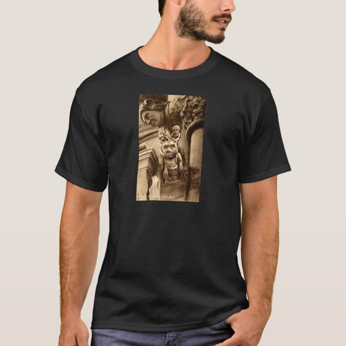 The Imp Gothic Cathedral 1912 Vintage T-Shirt