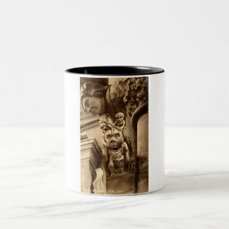 The Imp Gothic Cathedral 1912 Vintage Two-Tone Coffee Mug
