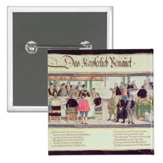 The Imperial Banquet: a scene Pinback Button