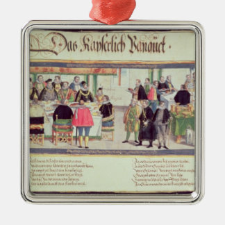 The Imperial Banquet: a scene Metal Ornament