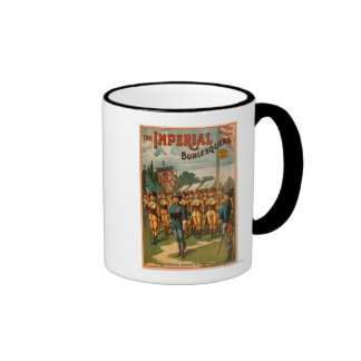 The Imperial Burlesquers Female Soldiers Play Ringer Coffee Mug