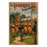 The Imperial Burlesquers Female Soldiers Play Posters