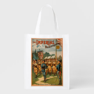 The Imperial Burlesquers Female Soldiers Play Reusable Grocery Bag