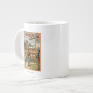 The Imperial Burlesquers Female Soldiers Play 20 Oz Large Ceramic Coffee Mug