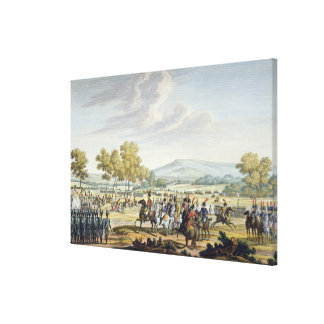 The Imperial Guard Manoeuvring in the Presence of Canvas Print