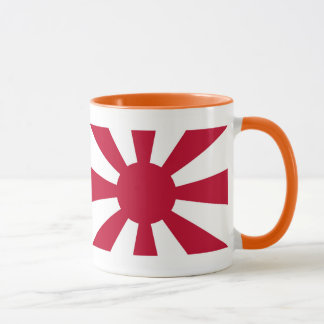 The Imperial Japanese Navy leader flag Mug