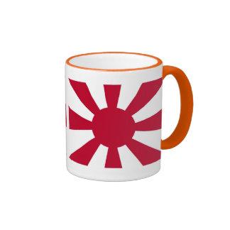 The Imperial Japanese Navy leader flag Ringer Mug