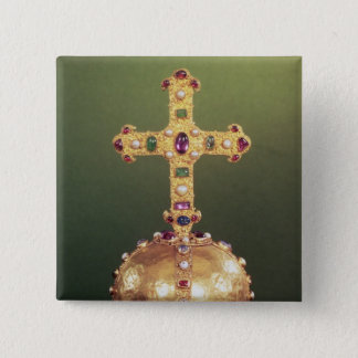 The Imperial Orb Of the Holy Roman Emperors Pinback Button