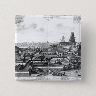 The Imperial Palace in Ido, Japan Pinback Button