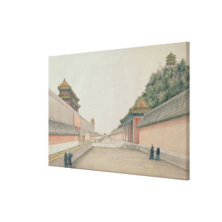 The Imperial Palace in Peking Canvas Print