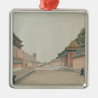 The Imperial Palace in Peking Christmas Tree Ornament