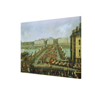The Imperial Procession Canvas Print