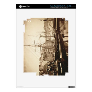 The Imperial Yacht 'La Reine Hortense' at Le Havre Decals For iPad 3