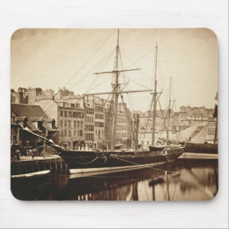 The Imperial Yacht 'La Reine Hortense' at Le Havre Mouse Pad