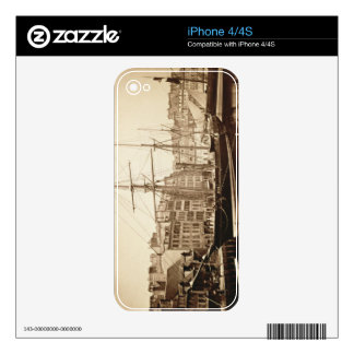 The Imperial Yacht 'La Reine Hortense' at Le Havre iPhone 4S Skins