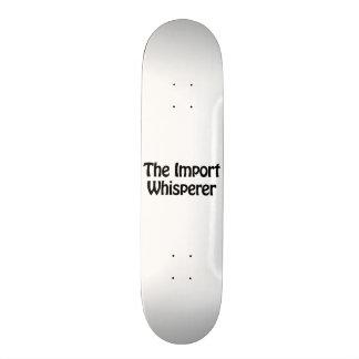 the import whisperer skate decks
