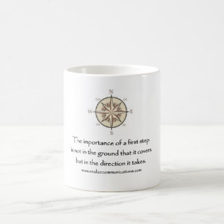 The Importance of a First Step MUG 11 OUNCE