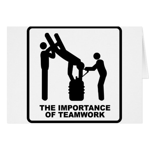 The Importance Of Teamwork Cards