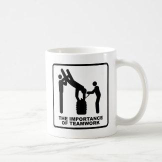 The Importance Of Teamwork Coffee Mug