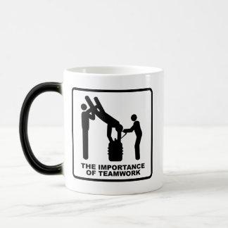 The Importance Of Teamwork Magic Mug