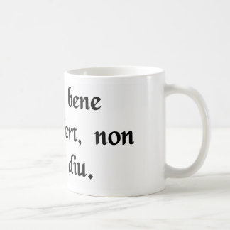 The important thing isn't how long you live..... coffee mug