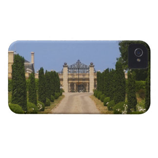 The imposing entrance to Chateau Haut Sarpe, the iPhone 4 Cover