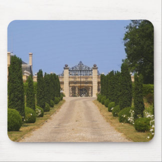 The imposing entrance to Chateau Haut Sarpe, the Mouse Pad