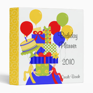 The Impossible Birthday Stack No.2 Year-Round Binder