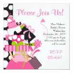 The Impossible Wedding Stack 5.25x5.25 Square Paper Invitation Card