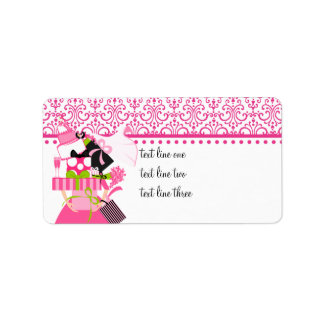 The Impossible Wedding Stack Lace Personalized Address Label