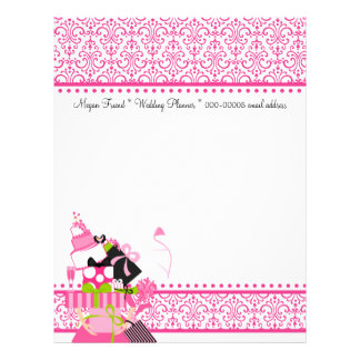 The Impossible Wedding Stack Lace Letterhead