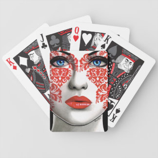 The Impostor by Carissa Rose Bicycle Playing Cards