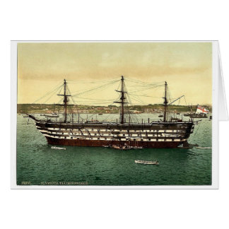 """The """"Impregnable"""" training ship, Plymouth, England Cards"""