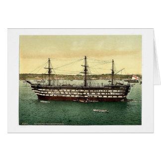 "The ""Impregnable"" training ship, Plymouth, England Card"