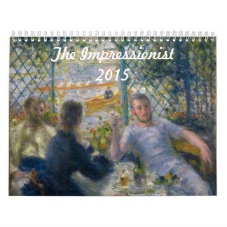 The Impressionist ~ 2015 Wall Calendar