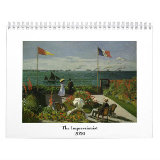 The Impressionist ~ Changeable for 2018 Calendar