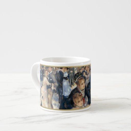 """The Impressionist Collection"" - Renoir ""Galette"" Espresso Mugs"