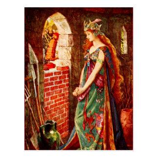 The Imprisoned Princess Post Card
