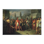 The Imprisonment of Guatimocin Canvas Print