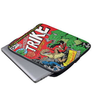 The Improbable Trike by Jim Lawson Laptop Sleeve