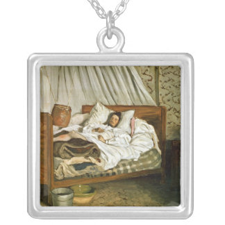 The Improvised Ambulance Silver Plated Necklace